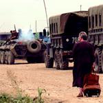 Drop a no-nonsense, grandmotherly figure into an army base