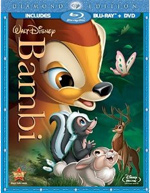 Bambi comes out of the vault and onto Blu-ray