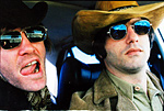 Taylor (The Dandy Warhols) and Newcombe (The Brian Jonestown Massacre) go for a drive