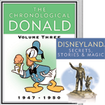 The Donald continues, and nostalgic visitors to Disneyland revel in advertising
