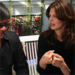 Jeanne Tripplehorn, right, and guest