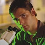 Mild-mannered Bruce Banner works on gamma radiation when not Hulking around
