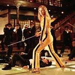 A roomful of Yakuza are no match for Uma in Tarantino territory