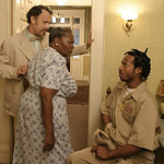 Hanks and Wayans are cartoony, but Irma P. Hall steals the show