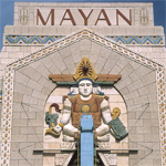 One of only three extant examples of the Mayan Revival style in America