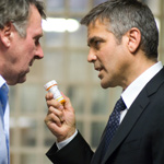 Wilkinson and Clooney give award-worthy performances