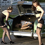 One of the world's most famous pinup girls