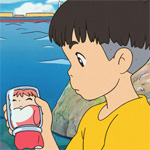 Ponyo starts out as a goldfish