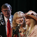 Keillor tries to keep up with the film actors