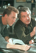 Norton and DeNiro plan the perfect score