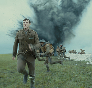 Schofield (George MacKay) on the run