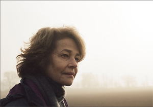 Rampling is nominated for an Oscar