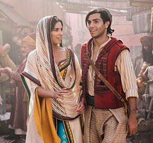 A winning pair: Jasmine and Aladdin