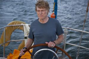 Redford sails alone