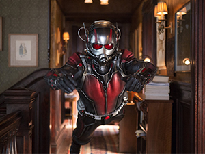 Ant-Man in action