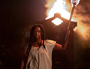 Eden (Janelle Monae) confronts her captors