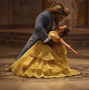 The Beast dances with the Beauty
