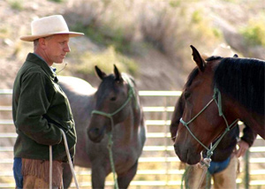 The horse whisperer has his own story to tell