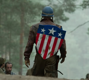 Captain America's got your back
