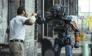 Hey kids! It's Chappie the fist-bumping robot!