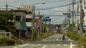 A city near Fukushima lies abandoned