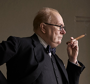 Gary Oldman is Winston Churchill