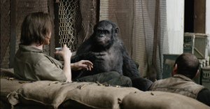 A meeting of the minds in Dawn of the Planet of the Apes