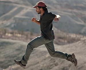 Moises (Gael Garcia Bernal) is on the run