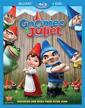 Gnomeo & Juliet is now on Blu-ray