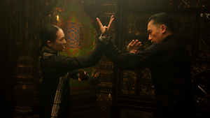 Wong turns martial arts into a lush romance