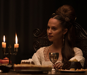 Alicia Vikander plays two roles