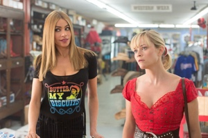 Sofia Vergara (left) and Reese Witherspoon (right) hope to set off fireworks while in Hot Pursuit