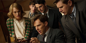 Cumberbatch, Knightley, and The Imitation Game are likely to win awards