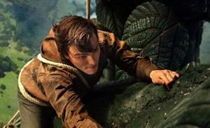 Jack climbs the beanstalk