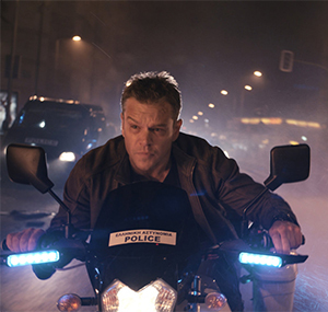 Bourne on the run... still