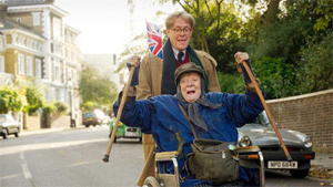 Maggie Smith plays another memorable character