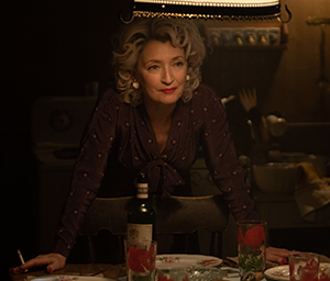 Lesley Manville is Blanche Weboy