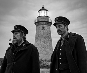Two mariners and a lighthouse