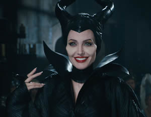 Angelina Jolie is excellent as Maleficent.