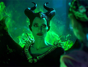 Angelina Jolie is magnificent as Maleficent