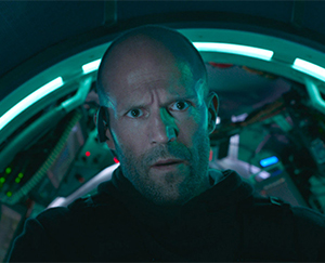 Jason Statham: peach fuzz as still art