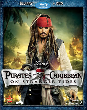 On Stranger Tides: Blu-ray/DVD Combo