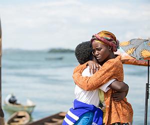 Harriet embraces her champion daughter