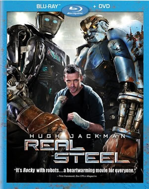Real Steel is now on Blu-ray