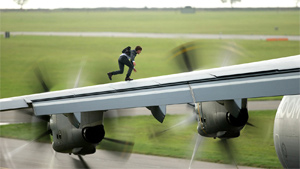 Action set pieces abound in Rogue Nation