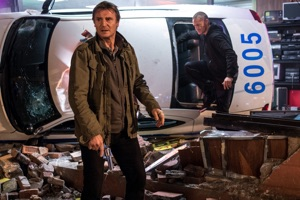 Liam Neeson with co-star (his gun)