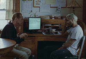 Joe (Paul Raci) consults with Ruben (Riz Ahmed)