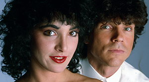Jane Wiedlin with Russell Mael