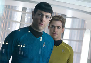 Spock and Kirk, together again
