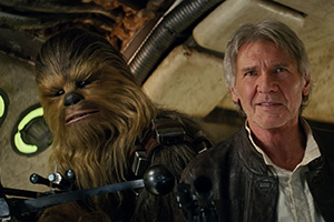 Chewbacca and Han Solo are back, 32 years later